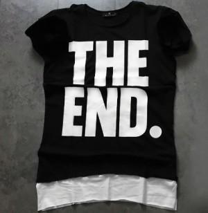 تی شرت مردانه The End