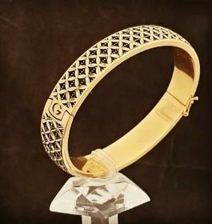 دستبند النگویی طلا 18 عیار