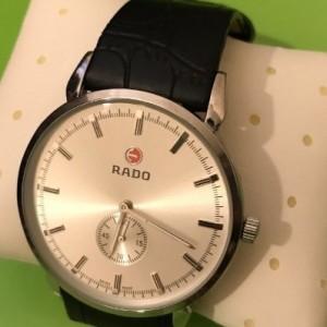 ساعت رادو دوموتور زیرثانیه دار RADO (فوق باریک مهندسی ساز)-تصویر 4