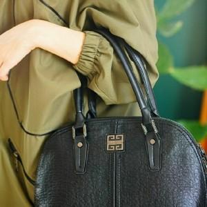 کیف دستی و دوشی چرم صنعتیZi-تصویر 3
