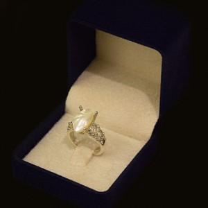 انگشتر نقره صدفی MASSIA-تصویر 4