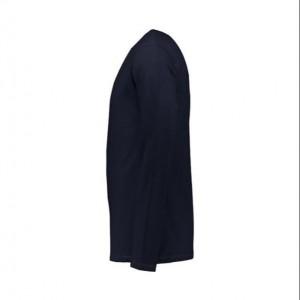 تیشرت آستین بلند مردانه سرمه ای ساده NEEK-تصویر 2