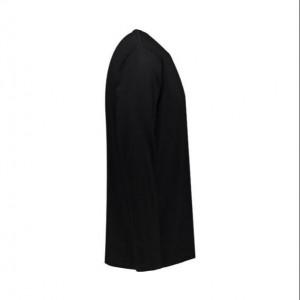 تی شرت مردانه آستین بلند مشکی ساده NEEK-تصویر 2