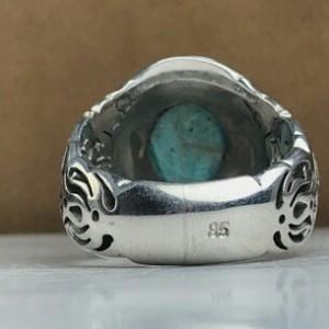 انگشتر فیروزه نیشابور اصلی-تصویر 4