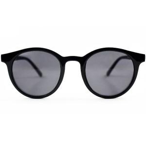 عینک آفتابی مردانه مدل Round2020 + کیف محافظ و دستمال-تصویر 4