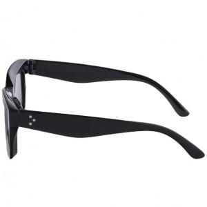عینک آفتابی مردانه مدل Rectangle + کیف محافظ و دستمال-تصویر 4