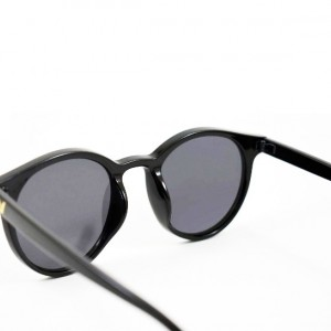 عینک آفتابی مردانه مدل Round2020 + کیف محافظ و دستمال-تصویر 5