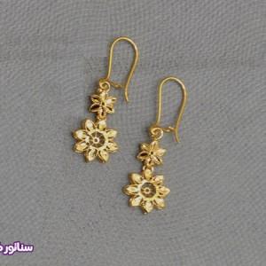 سرویس زنانه طرح طلا N8084-تصویر 3