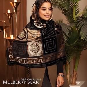روسری حریر مخمل اورجینال-تصویر 2