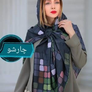 روسری نخی دور دست دوز برند cici ارسال رایگان-تصویر 5