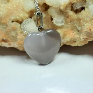 گردنبند عقیق تراش قلب، ولنتاین m331