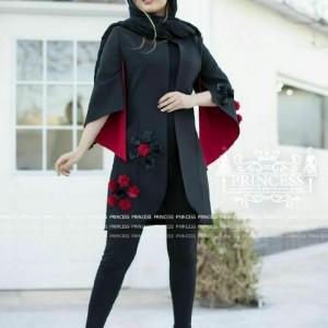 مانتو بهاره مدل شکوفه