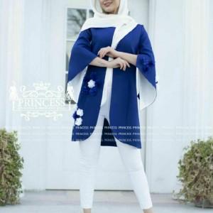 مانتو بهاره مدل شکوفه-تصویر 5