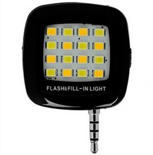 Portable Mini 16 LEDs Flash And Fill Light