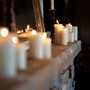 شمع استوانه ایی ساده - 10سانتی-تصویر 3
