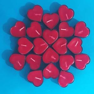 شمع وارمری طرح قلب - 50عددی-تصویر 2
