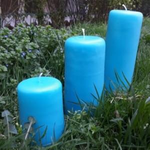 ست شمع استوانه ایی شهرزاد-تصویر 3