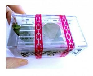 ابزار شعبده قلک معمایی شیشه ایی-تصویر 2