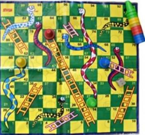 بازی منچ و مار سفره ایی-تصویر 5