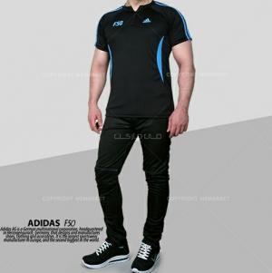 ست تیشرت و شلوار ADIDAS مدلF50-تصویر 2