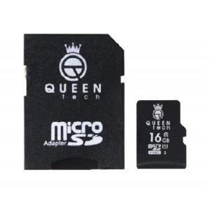 رم میکرو ۱۶ گیگ کوئین تک QUEEN TECH U1 45MB/s-تصویر 2