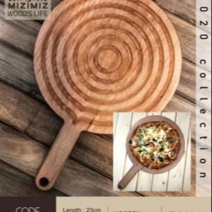 بشقاب دسته دار سرو پیتزا w0101