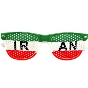 عینک طرفداری تیم ملی ایران مدل پرچم