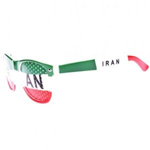 عینک طرفداری تیم ملی ایران مدل پرچم-تصویر 2