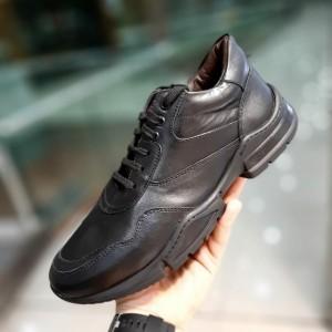 کفش اسپورت کلاسیک چرم طبیعی گاوی تورکیه
