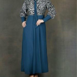 پیراهن مجلسی مدل کراواتی پلنگی