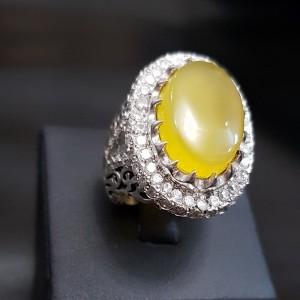 انگشتر نقره شرف الشمس سلطنتی-تصویر 3