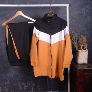ست سوییشرت شلوار سایز بزرگ-تصویر 3