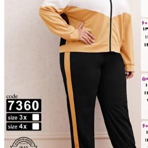 ست سوییشرت شلوار سایز بزرگ-تصویر 2