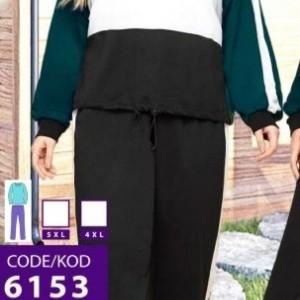 بلوز شلوار سایز بزرگ زنانه-تصویر 2