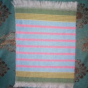 پک دو عددی دستمال جیبی دستباف
