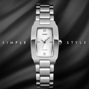 ساعت اسکمی skmei زنانه استیل اورجینال نقره ای مدل 1400-تصویر 2