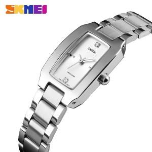 ساعت اسکمی skmei زنانه استیل اورجینال نقره ای مدل 1400
