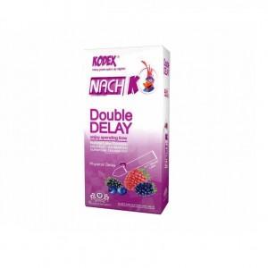 کاندوم تاخیری دوبل ناچ مدل Double Delay بسته 12 عددی