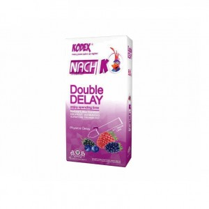 کاندوم تاخیری دوبل ناچ مدل Double Delay بسته 12 عددی-تصویر 2