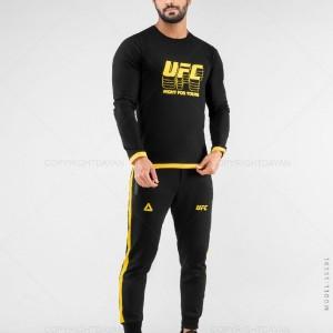 ست بلوز و شلوار مردانه UFC مدل 15591