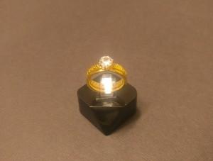 انگشتر نگین الماسی - a20-تصویر 2