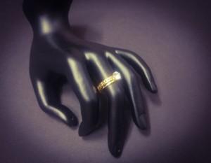 انگشتر نگین الماسی - a20-تصویر 5