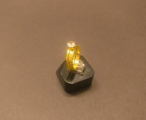 انگشتر نگین الماسی - a20-تصویر 3