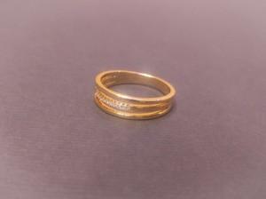 حلقه طلایی 3 تایی