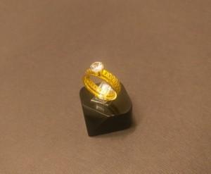 انگشتر نگین الماسی - a20