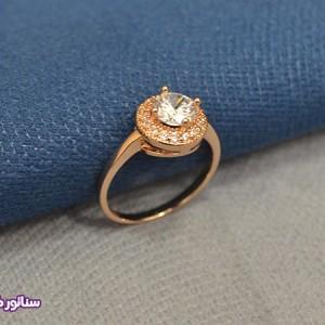 انگشتر زنانه طرح جواهر AZ4009