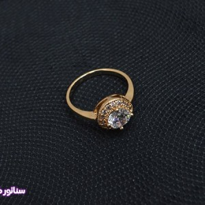انگشتر زنانه طرح جواهر AZ4009-تصویر 2