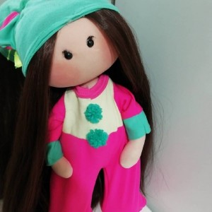 عروسک روسی مدل تک شاخ سایز بزرگ-تصویر 3