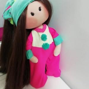 عروسک روسی مدل تک شاخ سایز بزرگ-تصویر 2