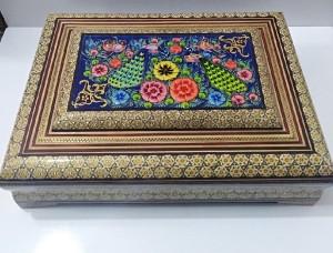 جعبه دیوان حافظ خاتم کاری-تصویر 2